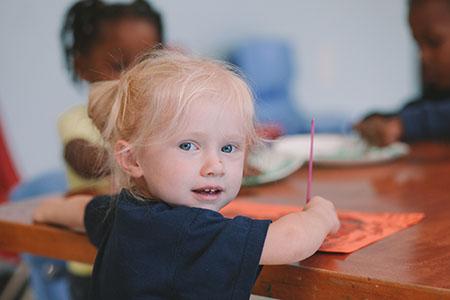 Young Preschool Girl